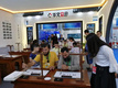 華文眾合參加中國國際教育裝備上海博覽會,國內外觀眾駐足體驗