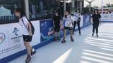 仿真冰球场冰雪进校园专用四季仿真滑冰场