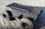 小黄鱼智能SYF-1智能车基于ROS基础上、四驱、可实现室内、室外自主定位、无人驾驶的教学、科研开发平台,负载可达100公斤