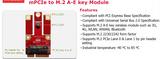 EMXX-0101 mPCIe to M.2 A-E key Module