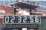 田竞终点计时显示牌