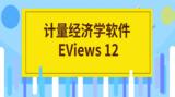 計量經濟學軟件EViews 12發布