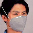 9022 折叠式防尘口罩(灰色,头带式)