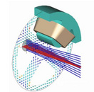 LORENTZ-HF 三维高频带电粒子轨迹求解器