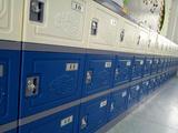 易安格塑料更衣柜学生书包柜批发厂家