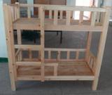 厂家批发可定做 原木幼儿园用品 木制儿童双层床 教学设备等