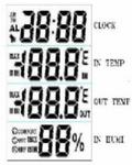 时钟双温度湿度同时显示IC