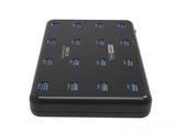 西普莱工业级A-163 HUB集线器 16口USB3.0分线器U盘TF卡批量格式拷贝