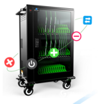 ipad 平板電腦充電柜 Ipad充電車 移動終端智能集中管理推車