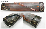 张长合牌优质黑檀木雕刻筝