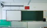 固定绿板添加电子白板