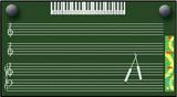 五线谱电教板