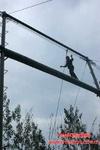 拓展训练器械高空独木桥