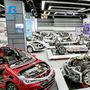 汽車教學實訓設備 汽車教具 比亞迪純電動低壓電器智能網聯控制系統墻體教具 汽車教具廠家