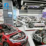 汽车教学实训设备 汽车教具 比亚迪纯电动低压电器智能网联控制系统墙体教具 汽车教具厂家