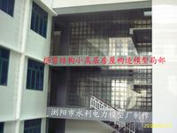 框架-剪力墙房屋结构模型局部