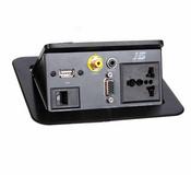 桌面插座/隐藏式接线盒JS-221V