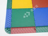 幼儿园软质环保型耐磨防位移防滑塑胶拼装式地板 篮球场绿色无气味高强度悬浮式塑料快速拼接地板