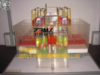 污水处理装置模型_水处理实验演示模型_垃圾焚烧发电厂仿真模型|城市污水处理厂总体布置立体模型