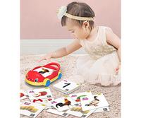 松翰95500蓝牙点读笔方案卡片智力玩具亲子互动小汽车蓝牙点读车订制