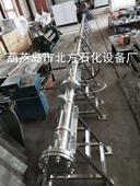 北方石化9.5m大型超聲速空氣動力學激波管