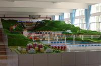 長沙科威模型 大型三級梯級綜合水利樞紐實訓沙盤KWSL-SX16米X5米
