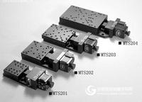 超薄型電控平移臺(V形導軌+交叉滾柱) 電控平移臺