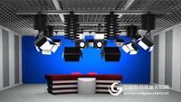 網絡直播室 虛擬演播室真三維虛擬直播平台 網絡直播建設