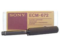 SONY ECM-672有线手持采访话筒