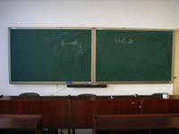 推拉綠板與電子白板2