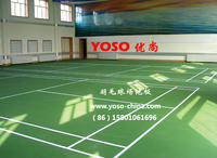 羽毛球場地膠地墊;羽毛球場地板;羽毛球場地;羽毛球專用地板膠;