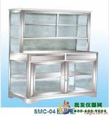 不锈钢玻璃药品柜I型