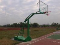 凹箱式仿液压篮球架篮球场工程