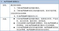 10月18-19日|AUTOSAR功能使用培训