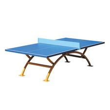 红双喜【DHS】乒乓球桌彩虹拱形室外乒乓球台OT8686