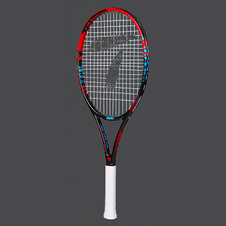 天龙【Teloon】天龙网球拍全碳素一体初学男女学生成人套装 魔力红 SPACE XI