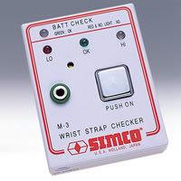 手腕带测试仪/手腕带电阻检测仪 型号:HAM-3 日本