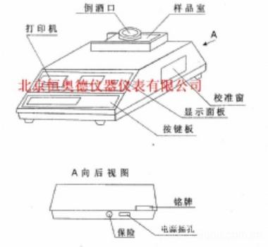 啤酒浊度泡沫检测仪/啤酒浊度仪/啤酒泡沫检测仪(不带打印)  型号:CY/ZPM-PA