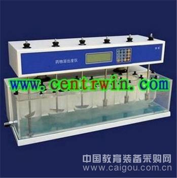 药物溶出度仪6杯(手动升降) 型号:SJHZ-6B3