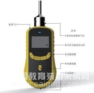 泵吸式单一气体检测仪/便携泵吸式二氧化硫检测仪 型号:HAD-SO2-9