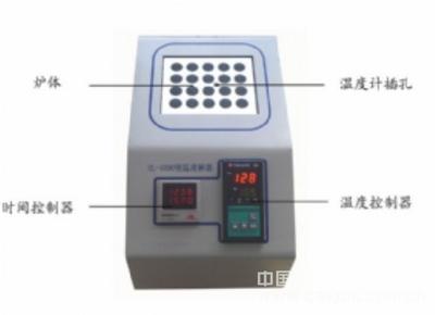 COD恒温消解器/COD加热器型号:HL1000