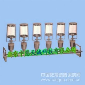 封闭式/开放式两用无菌检查薄膜滤器(六联) 特价 型号:BH-YSTV6