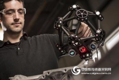 便携式 3D 扫描仪:METRASCAN 3D