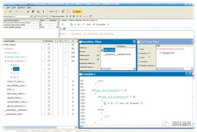 PolySpace — 嵌入式软件运行时静态检查工具