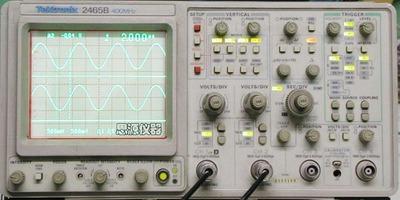 模拟示波器400MHz TEK2465B