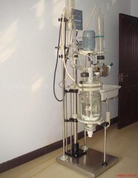 西安防爆型玻璃反应釜 玻璃反应釜厂家