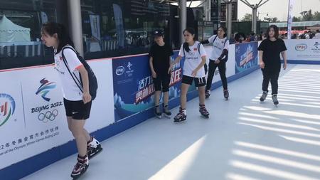 中小学专用冰场 仿真冰定制训练场地