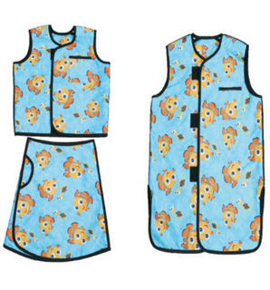 儿童防射线围裙