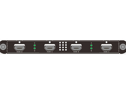 RENSTRON单卡4路2图层HDMI带底图和字幕拼接输出卡FSP-HM-O4混插板卡LED视频处理器大屏液晶拼接控制器