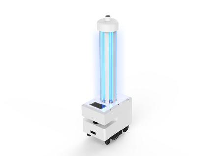 锐曼 消毒机器人  紫外线消毒/空气消毒  可灭新冠病毒/自主移动/自动充电/可上下电梯